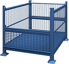 Metal & Wire Bulk Containers