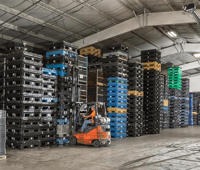 Plastic Bulk Container leasing Program