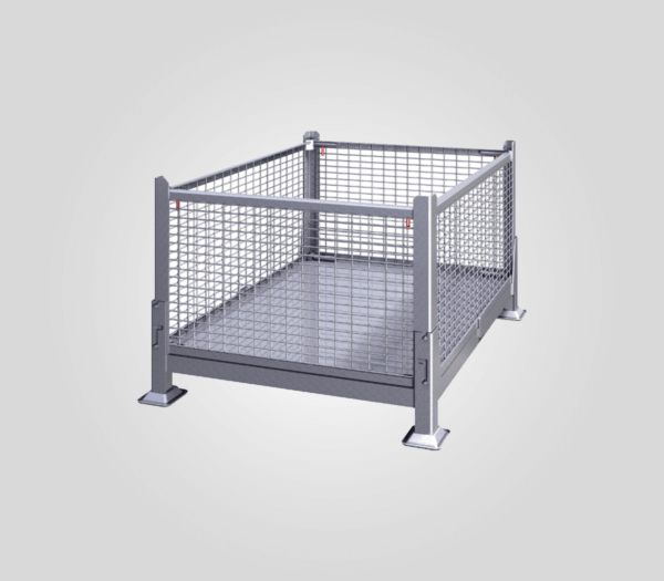 KDW-01 Collapsible, Wire Mesh Steel Bin