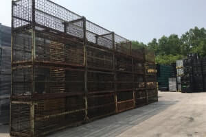 Used Metal Container-107x48x50