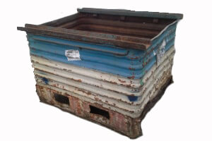 Used Metal Container-48X37X34
