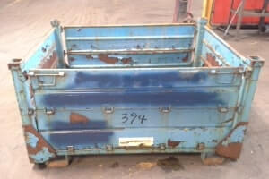 Used Metal Container – 52X44X41.5