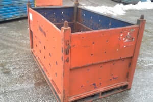 Used Metal Container – 60X36X36.5