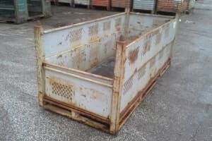 Used Metal Container – 87X36X36