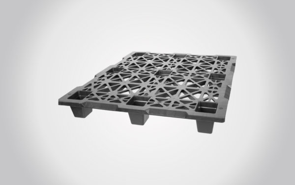 48x40x5.5 New Export Nestable Plastic Pallet-In Stock!