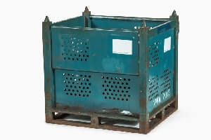 Used Metal Container – 36X32X36