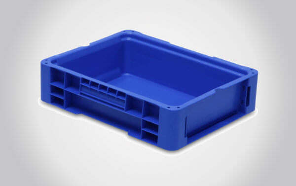 12x15x4 Straight Wall Handheld Containers