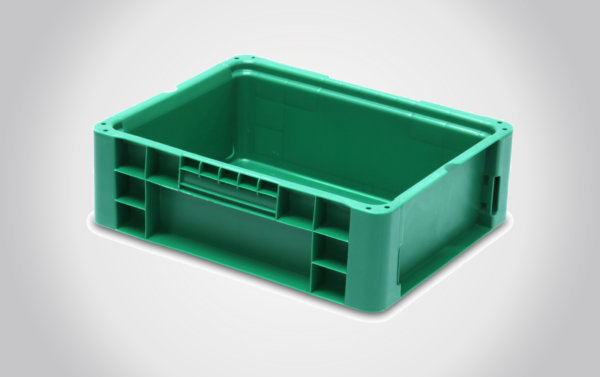 12x15x5 Straight Wall Handheld Containers